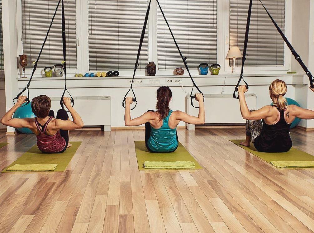 trx vadba treningi oblikovanje telesa skupinski trening s traki